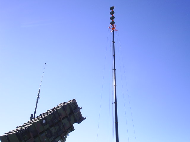 Defensive Rocket Launcher Antenna