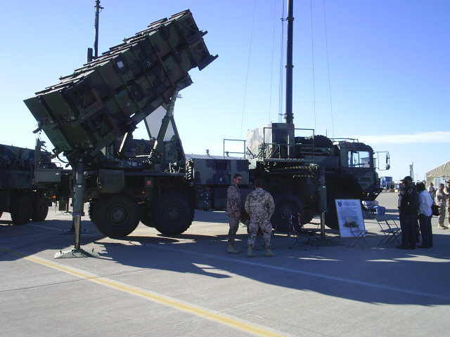 Defensive Rocket Launch Truck