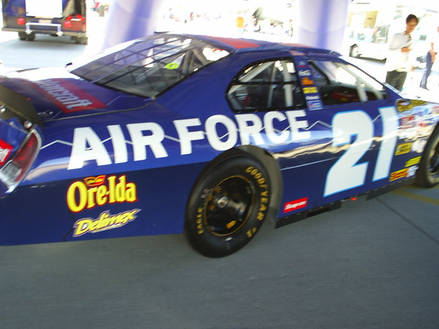 Air Force NASCAR